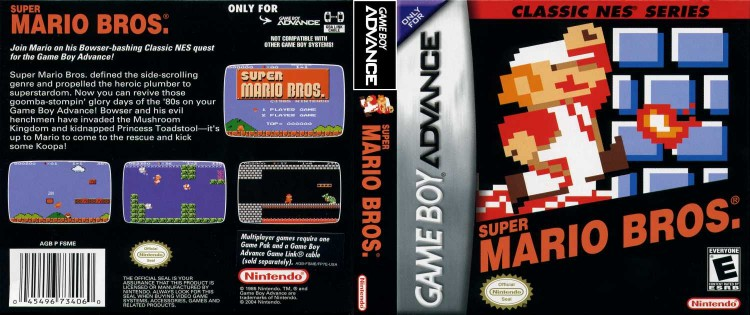Classic NES Series: Super Mario Bros. - Game Boy Advance | VideoGameX