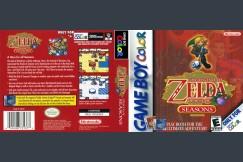 Legend of Zelda: Oracle of Seasons - Game Boy Color   VideoGameX