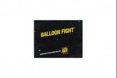 Balloon Fight Nintendo Instruction Manual - Manuals | VideoGameX