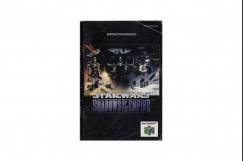 Star Wars: Shadows of the Empire Nintendo 64 Instruction Manual