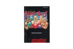Super Punch Out!! Super Nintendo Instruction Manual