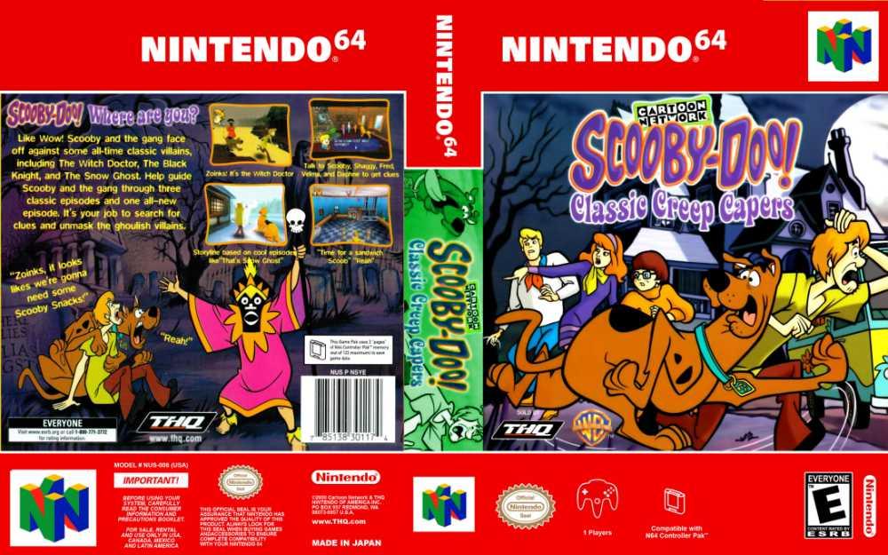 Scooby-Doo: Classic Creep Capers