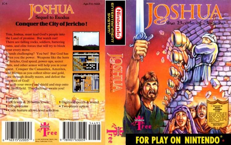 Joshua: The Battle of Jericho - Nintendo NES | VideoGameX