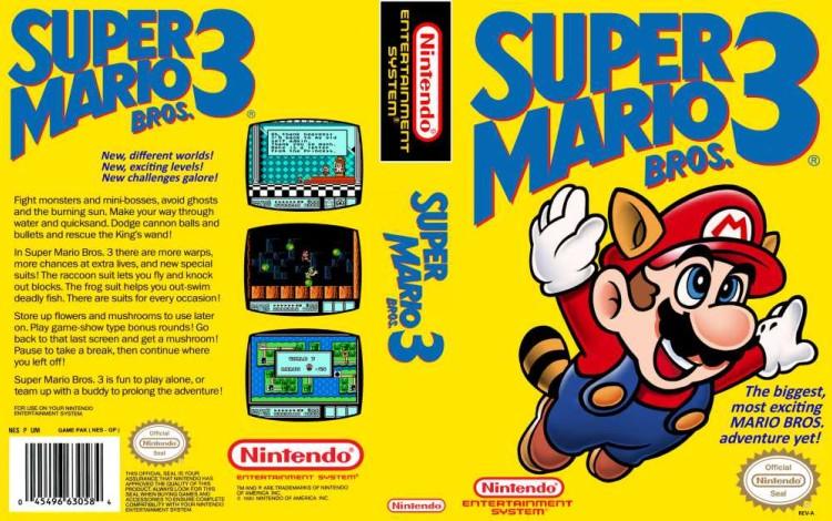 Super Mario Bros. 3 - Nintendo NES | VideoGameX