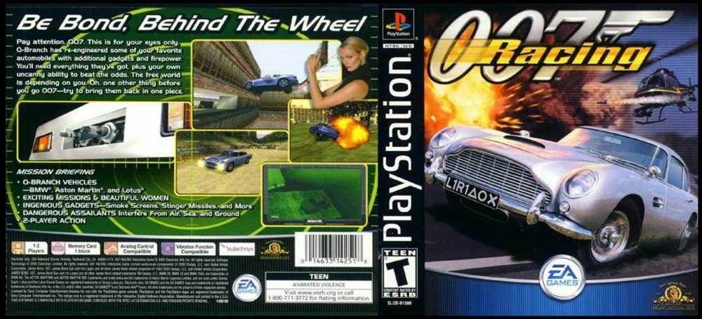 007 Racing psx