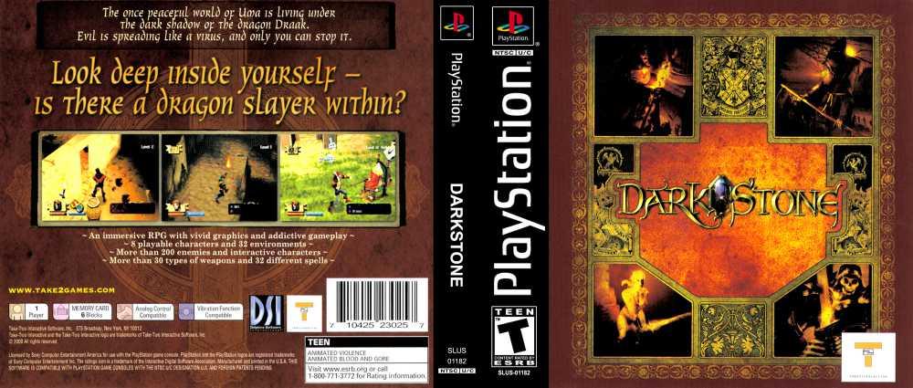 Darkstone Playstation Videogamex