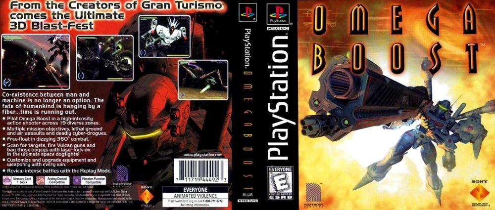 Omega Boost - PlayStation | VideoGameX