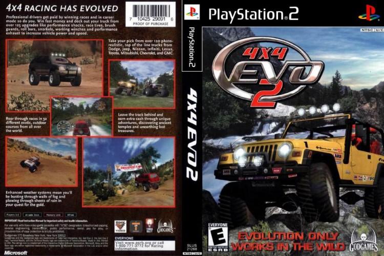 4x4 EVO 2 - PlayStation 2   VideoGameX