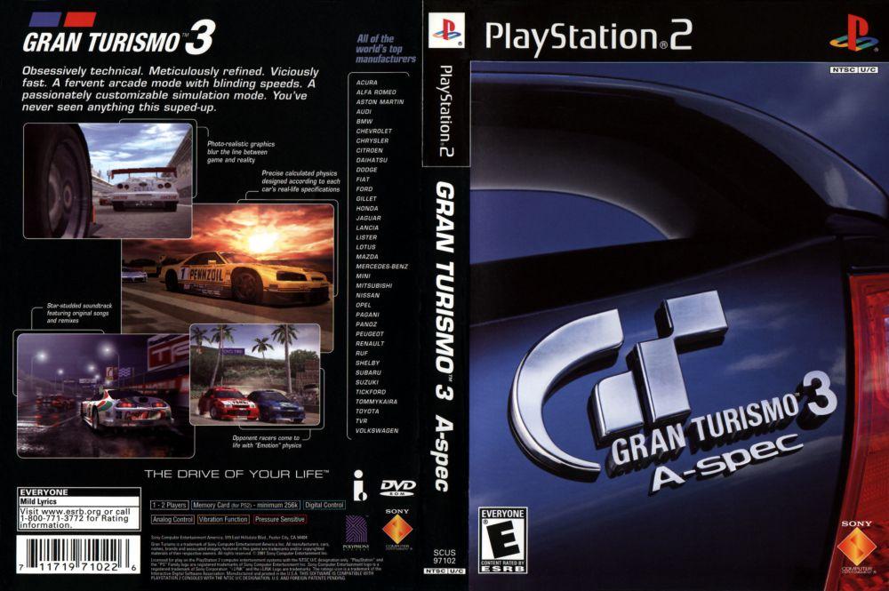 Gran Turismo 3 cover