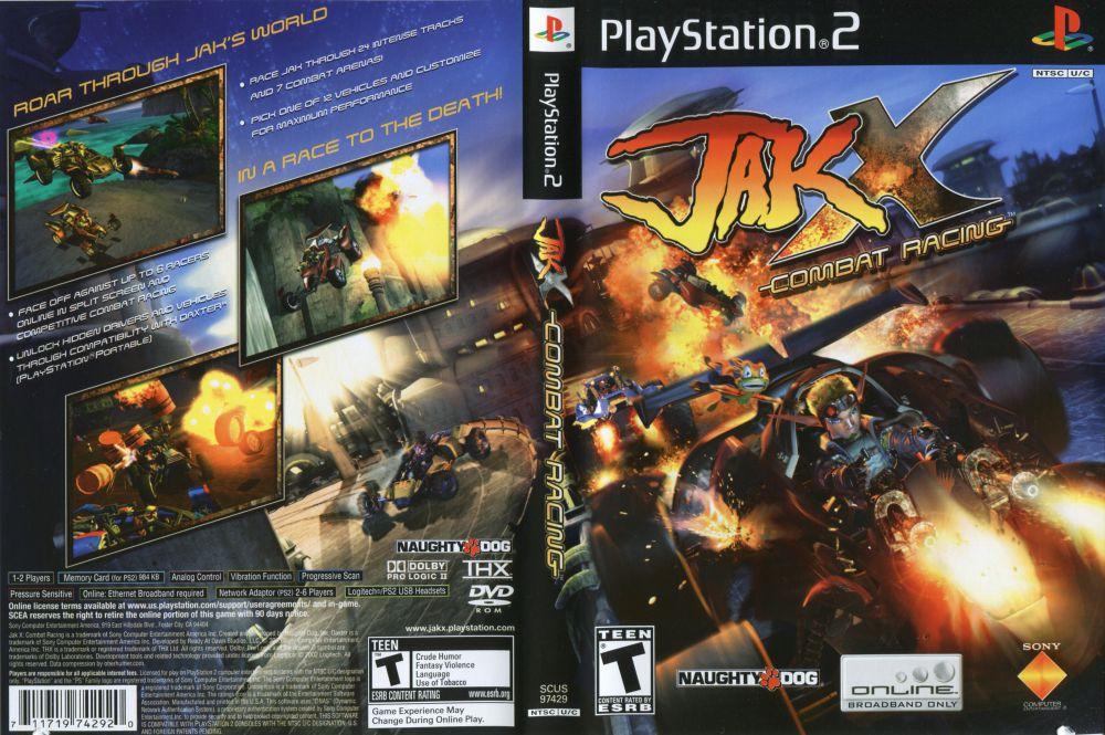 Jak X Combat Racing Playstation 2 Videogamex