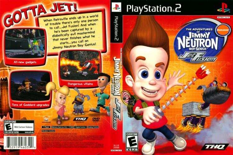 Jimmy Neutron: Jet Fusion