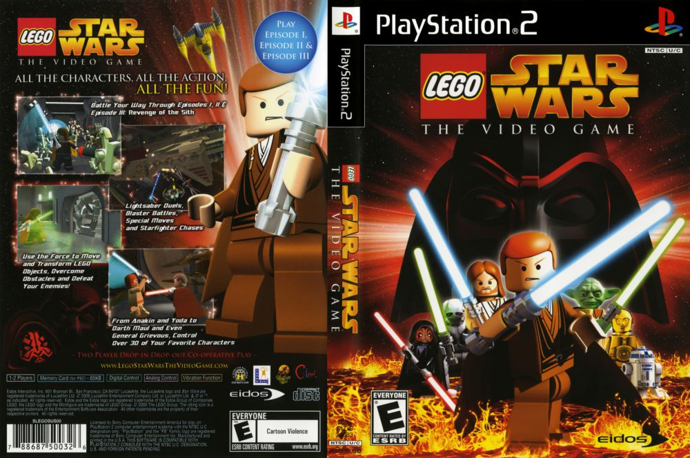 Lego Star Wars The Video Game Playstation 2 Videogamex