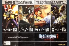 Dead Rising 2 Poster / Map