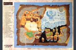 Final Fantasy: Mystic Quest Poster / Map
