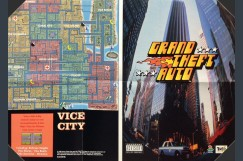 Grand Theft Auto Poster / Map