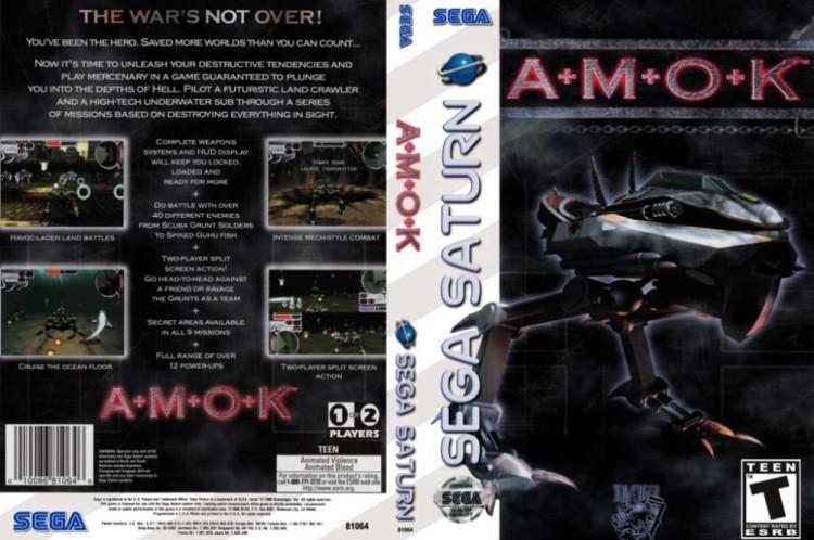 A.M.O.K. - Sega Saturn | VideoGameX