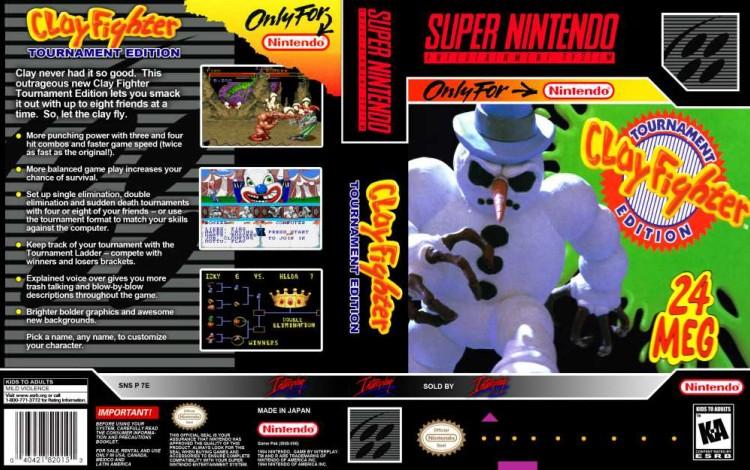 Clay Fighter: Tournament Edition - Super Nintendo | VideoGameX