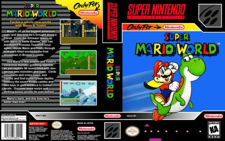 Super Mario World - Super Nintendo   VideoGameX