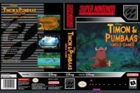 Timon and Pumbaa's Jungle Games - Super Nintendo   VideoGameX