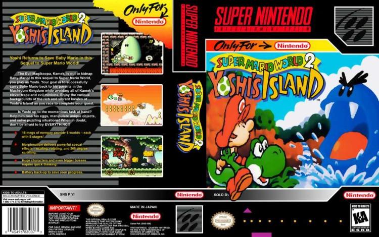 Super Mario World 2: Yoshi's Island - Super Nintendo | VideoGameX