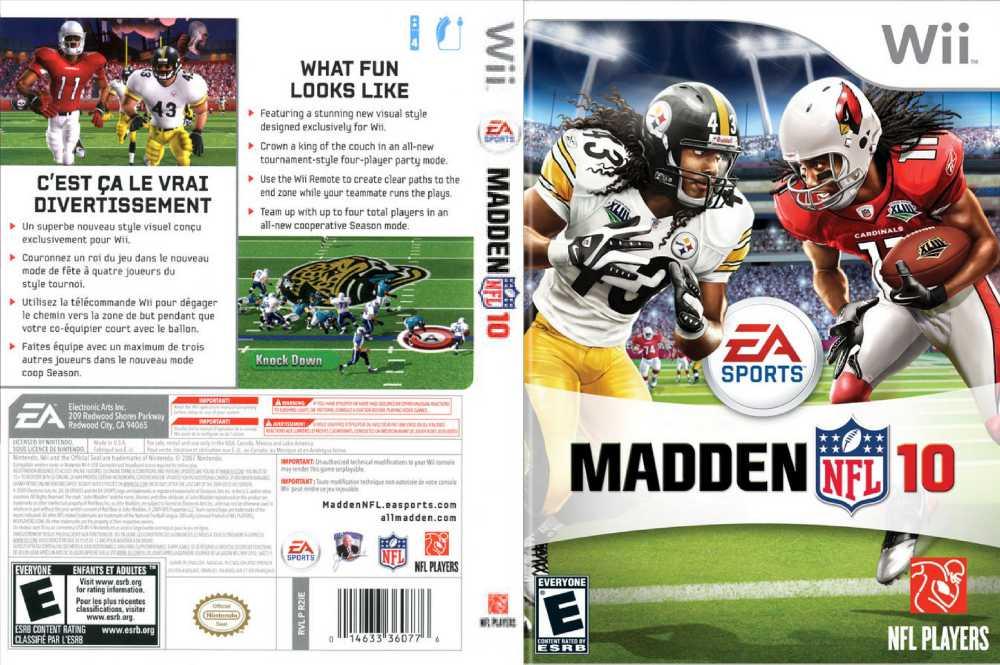 Madden NFL 10 - Wii | VideoGameX