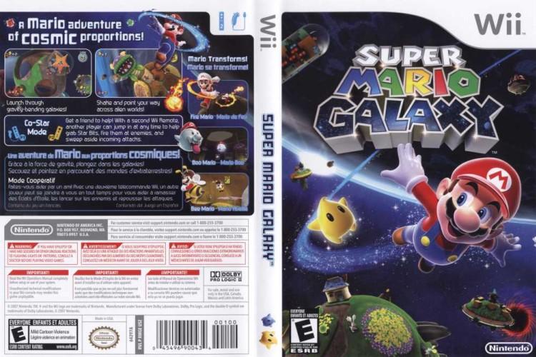 Super Mario Galaxy - Wii   VideoGameX