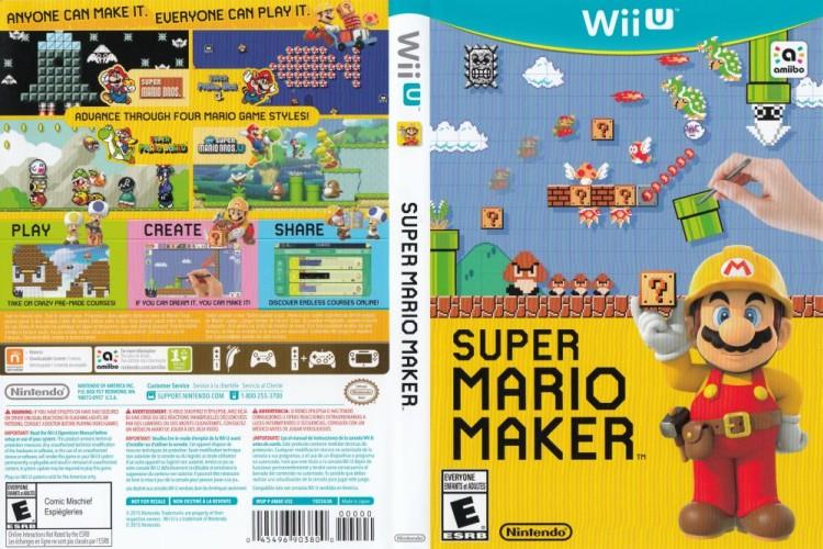 Super Mario Maker - Wii U | VideoGameX