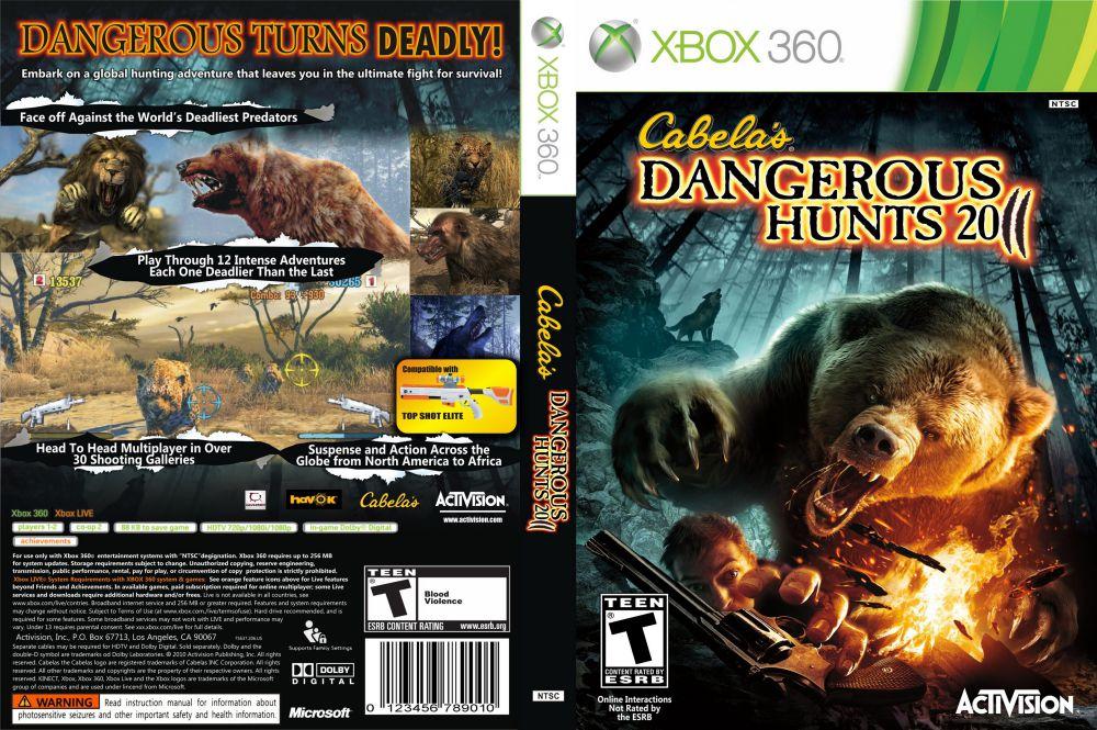 Cabela S Dangerous Hunts 2011 Xbox 360 Videogamex