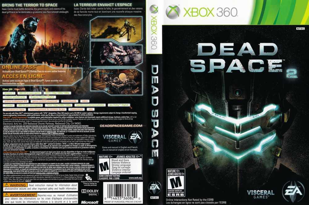 dead space 2 xbox 360 videogamex rh videogamex com Dead Space 4 dead space 2 xbox 360 manual pdf
