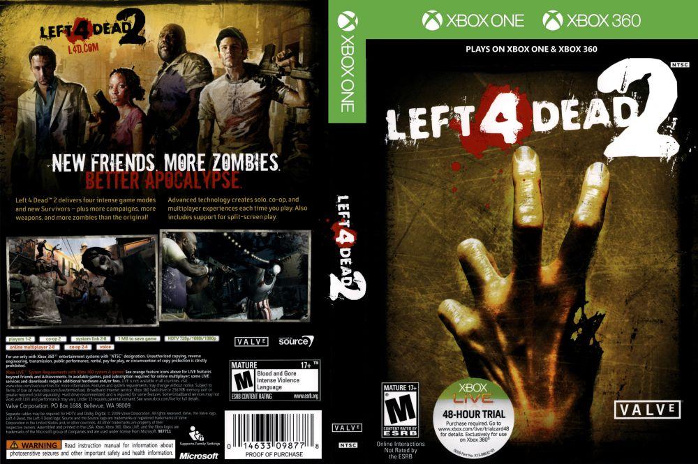 Left 4 Dead 2 - XBOX 360 | VideoGameX