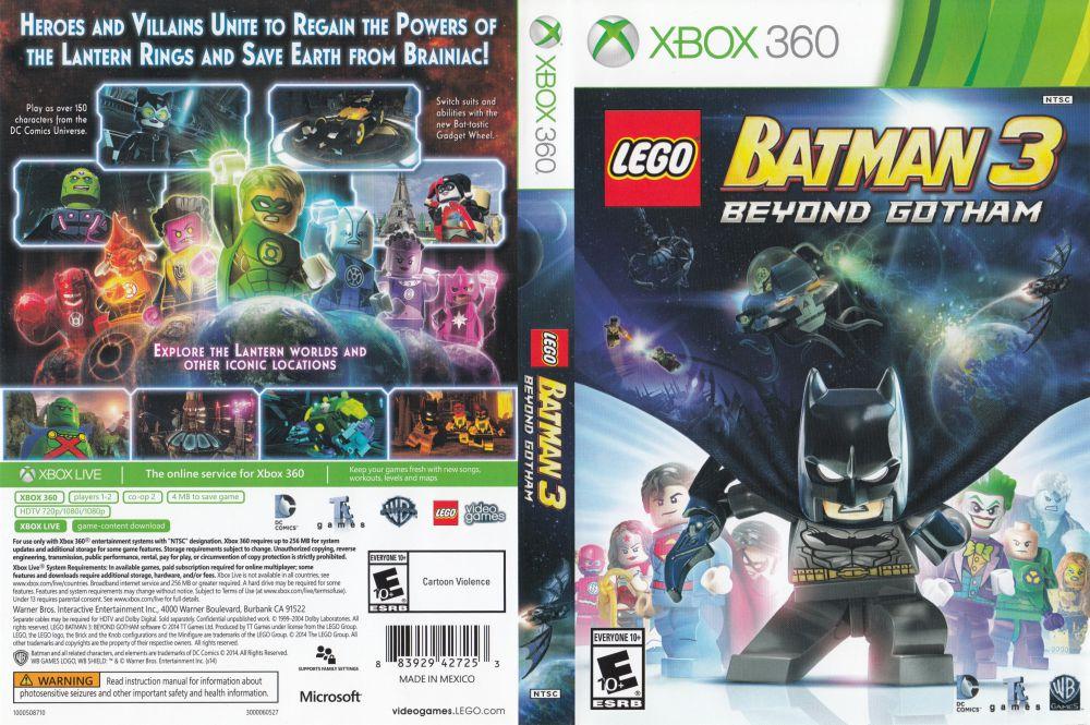 LEGO Batman 3: Beyond Gotham - Xbox 360   VideoGameX