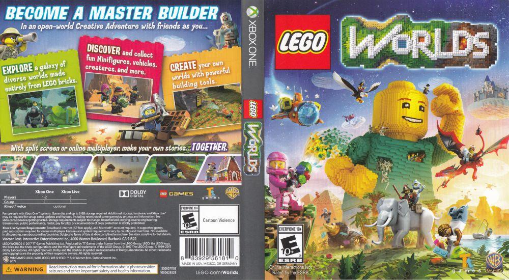 Lego Worlds Xbox One Videogamex